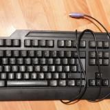 Tastatura IBM, PS/2, neagra