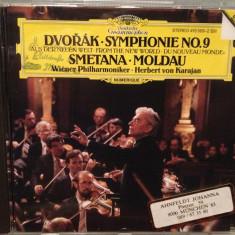 DVORAK/SMETANA - Symphony 9/Moldau (1985/POLYDOR/RFG) - CD ORIGINAL/ca Nou - Muzica Clasica deutsche harmonia mundi