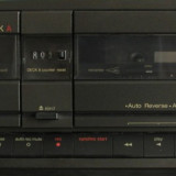Technics RS- T55R, Double Cassette Deck, auto reverse, dbx - Deck audio