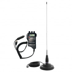Kit Statie radio CB Midland Alan 52 + Antena CB PNI ML145 + MAG ALAN52-PNI-ML145