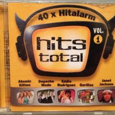 HITS TOTAL vol 1 - VARIOUS ARTISTS - 2CD SET (2001/EMI REC) - CD ORIGINAL - Muzica Pop emi records