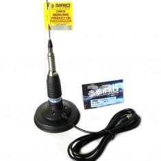 Antena CB Sirio ML145 cu baza magnetica inclusa 125mm Cod 2201805.63