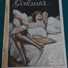 REVISTA GALANTĂ/COLIGAT NR. 3-9/ILUSTRAȚII E.MARVAN, C.BENEDEK/EDIȚIE INTERBELICĂ - Carte veche