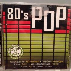 80's POP - JUST THE HITS - VARIOUS.... (2002/SONY/GERMANY) - CD ORIGINAL/ca Nou - Muzica Pop sony music
