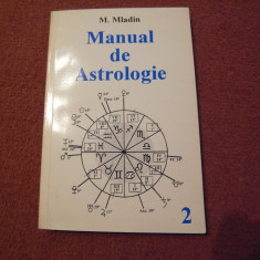 M.Mladin - Manual de astrologie - Vol.2 - Carte astrologie