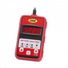 Tester baterii auto 12 V, JBM JB-51816, digital