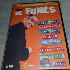 Colectie 8 filme cu Louis de Funes volumul 1, DVD, Romana