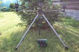 Stativ Tripod Suport Telescopic Pentru 3 Lansete + 3 Senzori Avertizori FL, 3 posturi, Fishing Line - FL