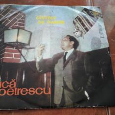 GICA PETRECU - CANTECE DE PAHAR VINIL FARA ZGARIETURI IMPECABIL - Muzica Lautareasca electrecord