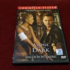 FILM DVD ALONE IN THE DARK - Film thriller, Romana