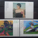 GERMANIA 1994 – PICTURA, serie MNH, A123 - Timbre straine, Nestampilat