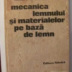 """GE - CURTU & GHELMEZIU """"Mecanica Lemnului si Materialelor pe Baza de Lemn"""" 1984"""