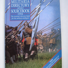 MILITARIA directory and sourcebook