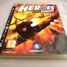 Joc Heroes over Europe, PS3, original, alte sute de jocuri!, Role playing, 18+, Single player, Ea Games
