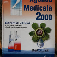 Agenda Medicala 2000, are 2128 Pagini