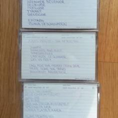 3 casete audio RAKS ED-SX 60  - Judas Priest (x3), Iris