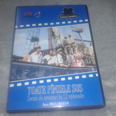 Toate panzele sus - colectia cinemateca - 6 DVD - 12 episoade - Film animatie, Romana