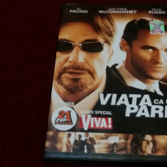 FILM DVD VIATA CA UN PARIU, Romana