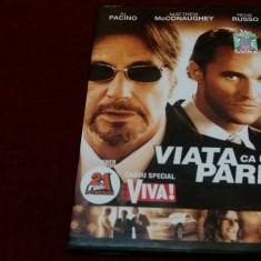 FILM DVD VIATA CA UN PARIU - Film thriller, Romana