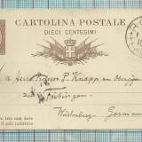 Carti Postale RARITATI-ITALIA-1882-alba, Circulata, Fotografie