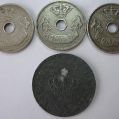 Romania (16) - 10 bani 1905, 1906, 1906 J, 20 lei 1944 - Moneda Romania
