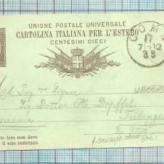 Carti Postale RARITATI-ITALIA-1882, Circulata, Fotografie