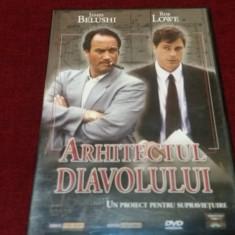 FILM DVD ARHITECTUL DIAVOLULUI - Film thriller, Romana