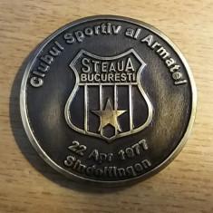 MEDALIE OMAGIALA - HANDBAL - 40 ANI - STEAUA - TSKA MOSCOVA - 1977 - RARITATE!