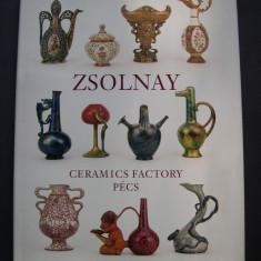 Ceramica ZSOLNAY - Carte Istoria artei