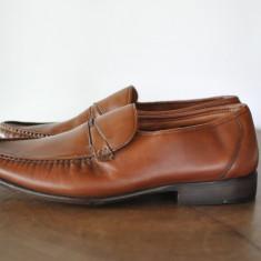 BUGATTI PANOFI DE PIELE ELEGANTI MARIMEA 46 - Pantofi barbat, Culoare: Din imagine