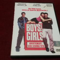 FILM DVD BOYS AND GIRLS - Film comedie, Romana