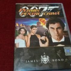 FILM DVD   JAMES BOND PERMIS PENTRU O CRIMA