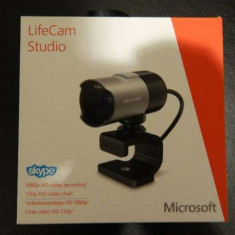 Webcam Microsoft LifeCam Studio, nou in cutie! Camera nr1 in lume, Peste 2.4 Mpx, Microfon