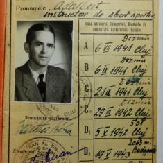 AVIATOR - AVIATIE - AERONAUTICA - CARNET DE ZBOR 1951 - 1976 - AS. METALUL CLUJ - Pasaport/Document