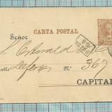 Carte postala RARITATE-Argentina-1891, Circulata, Fotografie