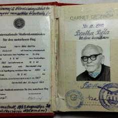 AVIATOR - AVIATIE -AERONAUTICA -CARNET DE ZBOR - VETERAN AL ZBORULUI FARA MOTOR - Pasaport/Document