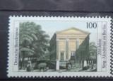GERMANIA 1991 – ACADEMIA DE MUZICA BERLIN, timbru nestampilat, VL5