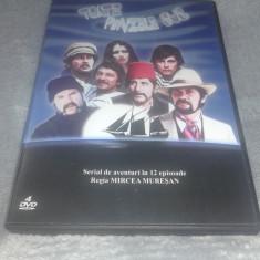 Toate panzele sus - Mircea Muresan - 4 DVD - serial de aventuri in 12 episoade - Film animatie, Romana
