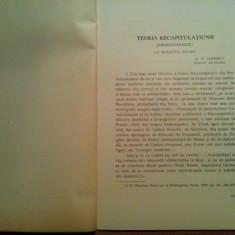 TEORIA RECAPITULATIUNII LA SFANTUL IRINEU - N. Chitescu - - Carti bisericesti