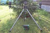Stativ Tripod Suport Telescopic Pentru 3 Lansete + 3 Avertizori FL + 3 Swingeri, 3 posturi, Fishing Line - FL
