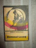 Domnul Lecoq- Emile Gaboriau
