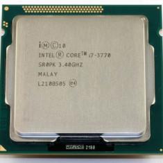 Procesor socket 1155 Intel Ivy Bridge, Core i7 3770 3.4 GHz +cooler stock - Procesor PC Intel, Intel Core i7, Numar nuclee: 4, Peste 3.0 GHz