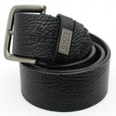Curea / curele Hugo Boss 100% calitate ! model NEGRU (nu Armani) - Curea Barbati Hugo Boss, Marime: 110cm
