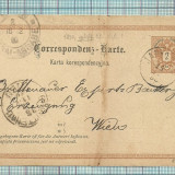 Carti Postale RARITATI-Austria-1890, Circulata, Fotografie