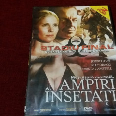 FILM DVD   STADIU FINAL / VAMPIRI INSETATI 2 FILME, Romana