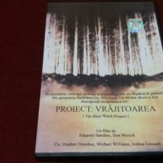 FILM DVD PROIECT VRAJITOAREA - Film thriller, Romana