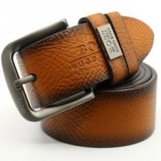 Curea / curele Hugo Boss 100% calitate ! model Maro (nu Armani) - Curea Barbati Hugo Boss, Marime: 115cm