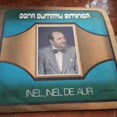 Dona Dumitru Siminica - Inel, Inel De Aur -VINIL FARA ZGARIETURI IMPECABIL - Muzica Lautareasca electrecord