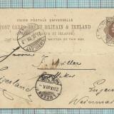 Carti Postale RARITATI-ANGLIA-1888, Circulata, Fotografie