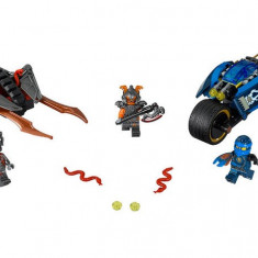 Motocicleta Fulger a lui Jay (70622) - LEGO Ninjago
